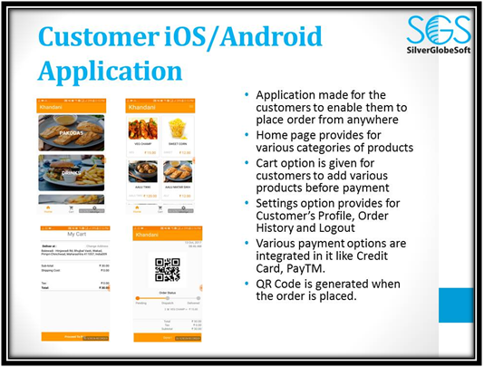 Customer iOS Andriod App