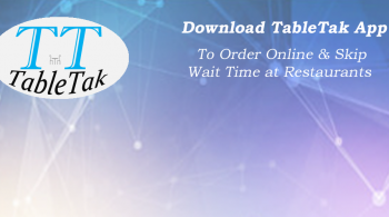 TableTak - Food Ordering