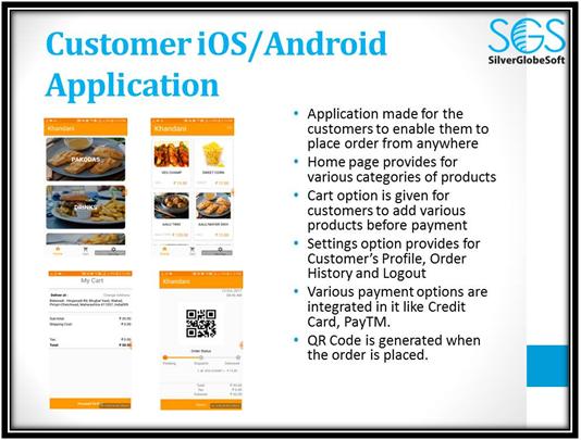 Customer iOS Andriod App