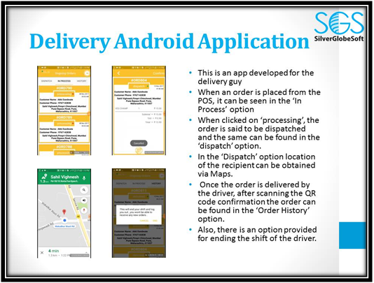 Delivery Andriod app